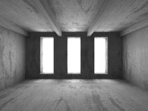 Abstract Empty Concrete Wall Room Interior Background Royalty Free Stock Image