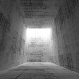 Abstract empty dark concrete room interior Royalty Free Stock Image