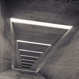 Abstract empty dark concrete tunnel interior  background Royalty Free Stock Image
