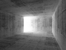 Abstract empty dark room interior. With concrete walls Royalty Free Stock Image