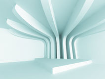 Abstract Empty Design Column Interior Background Royalty Free Stock Image