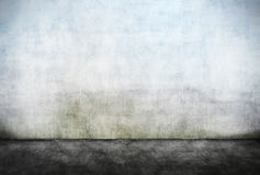 Abstract empty dirty wall. With dirty foreground Royalty Free Stock Photos