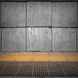 Abstract empty industrial interior Royalty Free Stock Photography