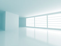 Abstract Empty Modern Interior Background Stock Image