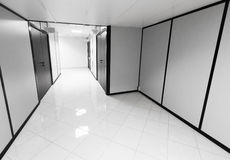 Abstract empty office interior with white walls Stock Photo