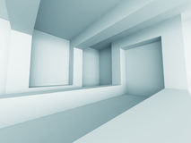Abstract Empty Room Interior. Modern Design Interior Background Stock Image