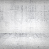 Abstract empty white concrete interior Stock Images