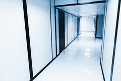 Abstract empty white office interior Royalty Free Stock Photography