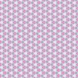 Abstract en kanten patroon, op de sering Royalty-vrije Stock Afbeelding