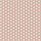 Abstract en kanten patroon, op grijs Stock Foto