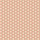 Abstract en kanten patroon, op het beige Royalty-vrije Stock Fotografie