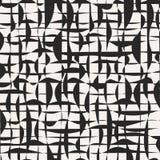 Grunge grid seamless pattern. royalty free illustration