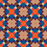 Abstract endless pattern. Royalty Free Stock Photo
