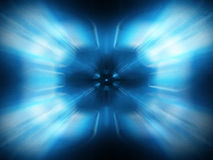Abstract energy. On black background Stock Photos