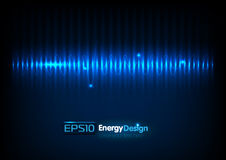 Abstract energy background Royalty Free Stock Photography