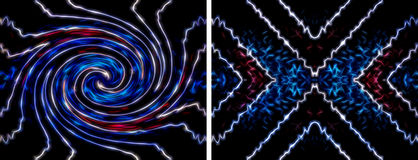 Abstract energy background stock illustration