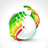 Abstract energy icon Stock Photography