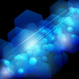 Abstract energy line background Stock Photo