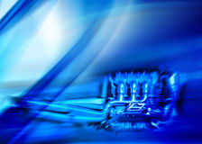 Abstract engine composition Royalty Free Stock Image