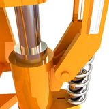 Abstract engineering assembly Stock Photography