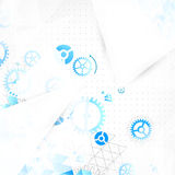 Abstract engineering technology background. Royalty Free Stock Images