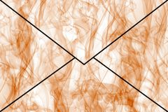 Abstract envelope Stock Photos