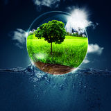 Abstract environmental backgrounds Stock Image