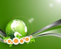 Abstract environmental vector background Royalty Free Stock Photos