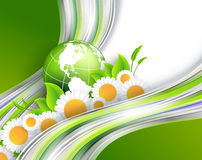 Abstract environmental vector background Stock Images