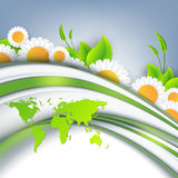 Abstract environmental vector background Stock Image