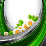 Abstract environmental vector background Royalty Free Stock Photo