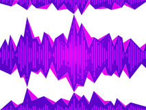 Abstract Equalizer Background Illustration Royalty Free Stock Photography
