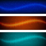 Abstract equalizer colorful geometric background vector illustration Royalty Free Stock Images
