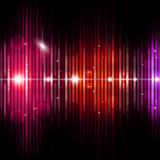 Abstract Equalizer Music Background Stock Photography