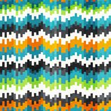 Abstract equalizer seamless pattern. (eps 10 Royalty Free Stock Images