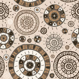 Abstract  Ethnic background. Stock Photos
