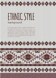 Abstract ethnic background Royalty Free Stock Photo