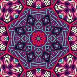 Abstract ethnic colorful mosaic  tribal pattern Stock Photo