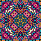 Abstract ethnic colorful seamless pattern Royalty Free Stock Photography