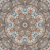 Abstract ethnic indian seamless pattern tribal. Abstract ethnic indian floral grunge vector ethnic tribal pattern Stock Images