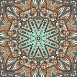 Abstract ethnic indian seamless pattern tribal Royalty Free Stock Photo