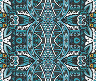 Abstract ethnic indian seamless pattern tribal. Tribal vintage ethnic seamless vector pattern ornamental Royalty Free Stock Photography