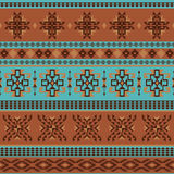 Abstract ethnic pattern Stock Image