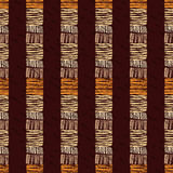 abstract ethnic pattern seamless 皇族释放例证