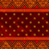 Abstract ethnic pattern Stock Images