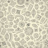 Abstract ethnic pattern Stock Photography