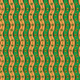 Abstract ethnic pattern.Vector Royalty Free Stock Photography