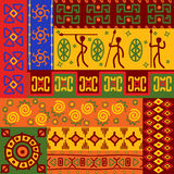 Abstract ethnic patterns Stock Image