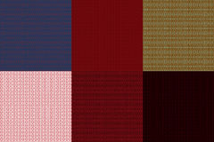 Abstract ethnic patterns. Stock Image