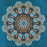 Abstract ethnic round ornament Royalty Free Stock Photography